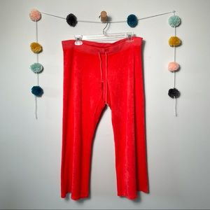Juicy Couture Pink Wide Leg Sweatpants